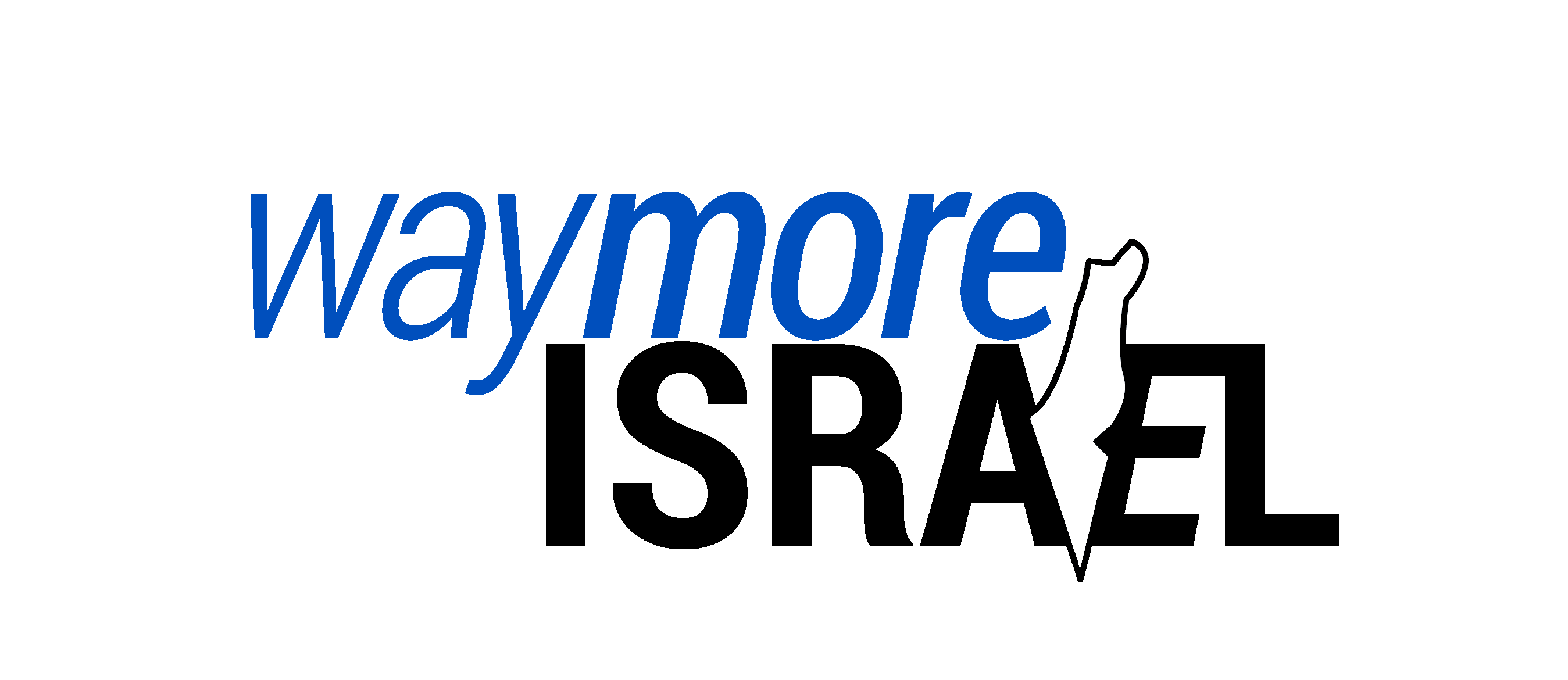 waymore-israel-logo-map